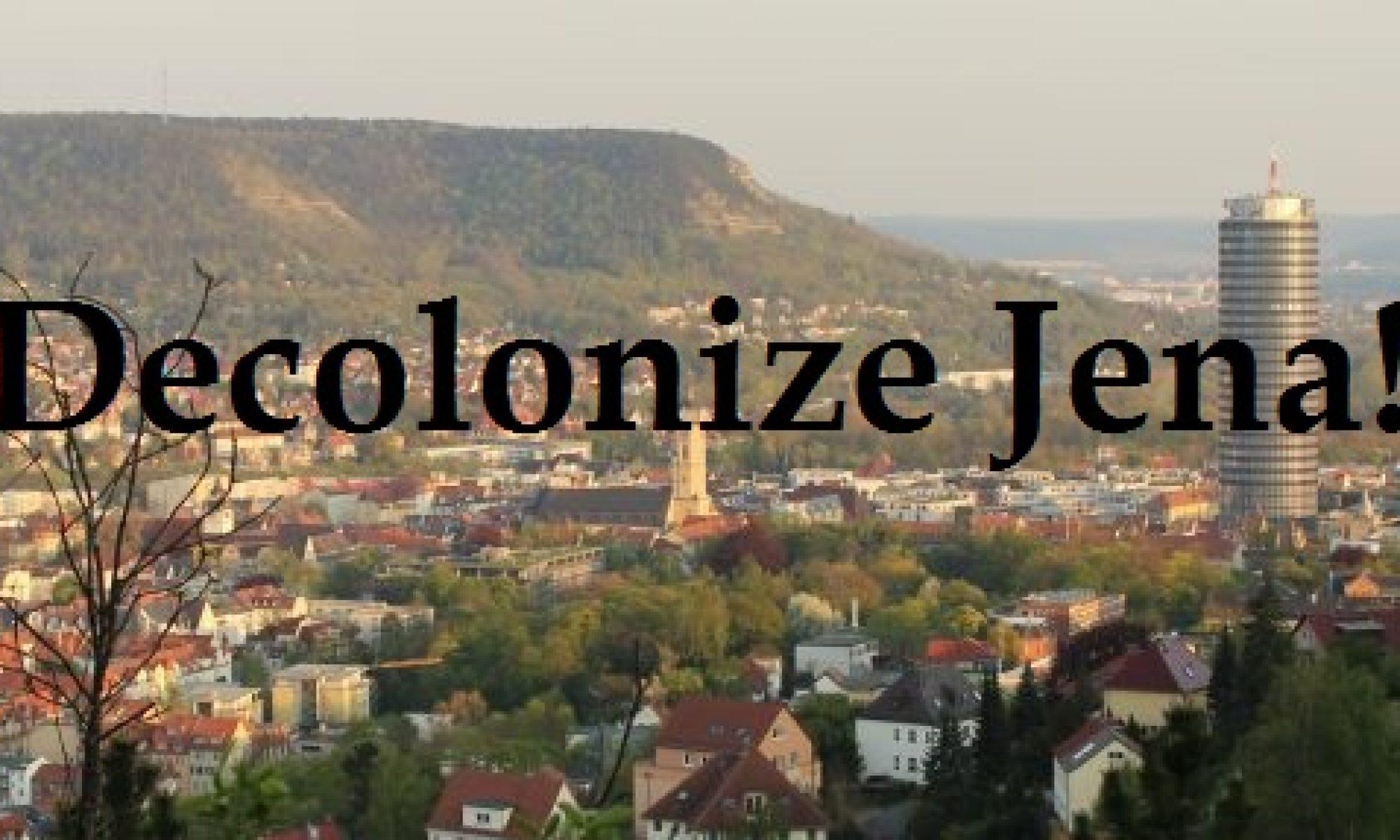 Decolonize Jena!